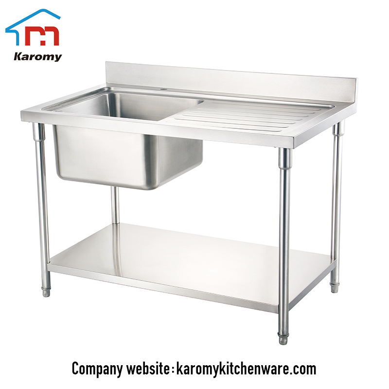 Best Quality Stainless Steel Commercial Fish Cleaning Kitchen With Sink Work Table Buy Stainless Steel Fish Cleaning Table With Sink Kitchen