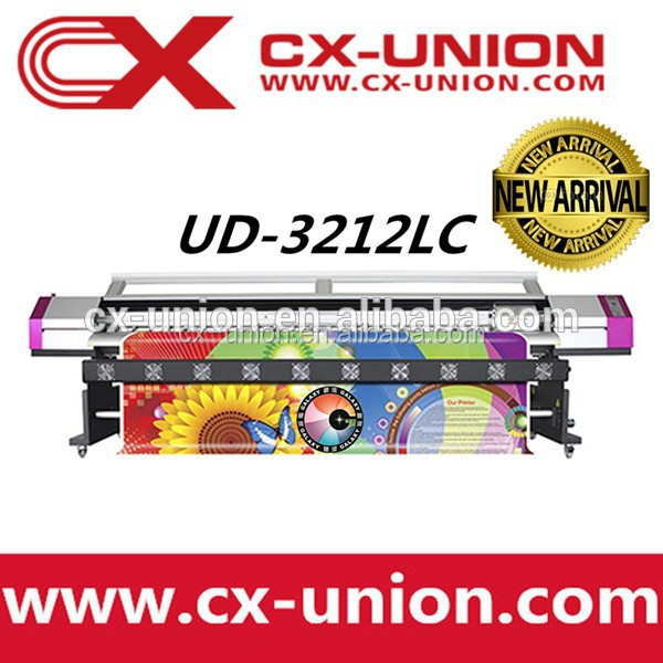 eco solvent based inkjet printer 10ft with dx5 print head for sale