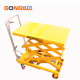 800kg 1.5M Hydraulic Pump Manual Double Scissors Lift Tables for Sale