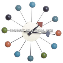 George multicolor wall ball clock