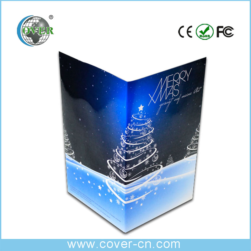 Hot selling video greeting card video wedding invitation card on sale
