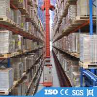 ISO Certificate Solid Automatic Warehouse Metal Storage Rack