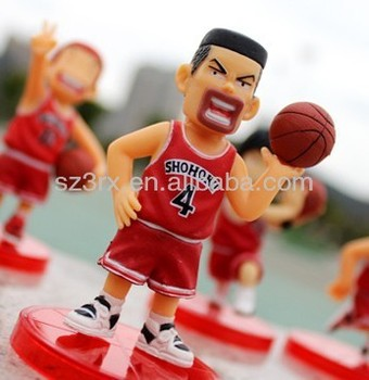 Custom Cartoon Movie Action Figures Basketball Player Action Figure