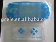 New Brand full replacement shell for psp3000(clear blue)