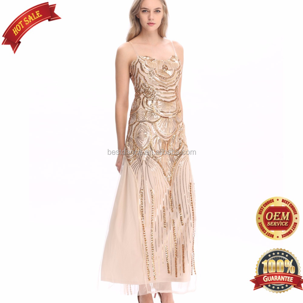 Bestdance 1920 s vintage aileron robe charleston gatsby - Robe de soiree charleston ...