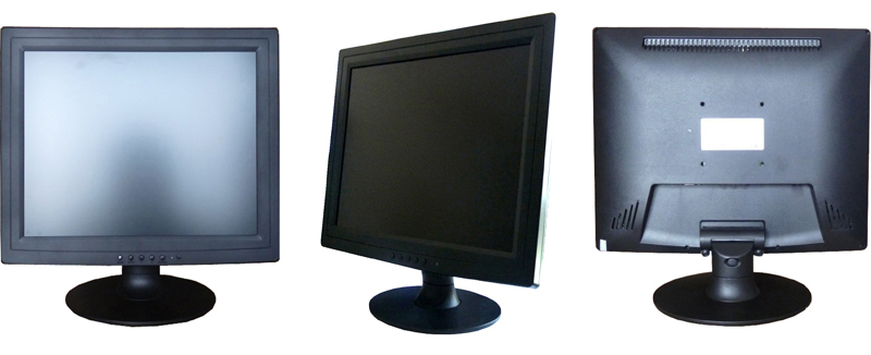 Chinese factory wholesale 15 inch lcd monitor 12v