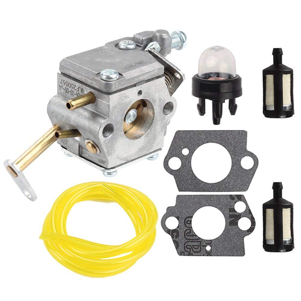 Anzac Carburetor For Homelite UT-10532 UT-10926 PS33 D3300 Ranger 20 23 B2216CC Ryobi RY74003D 33cc Chainsaw 300981002 A09159 000998271 A09159A Replace C1Q-601 C1Q-H42 Carb