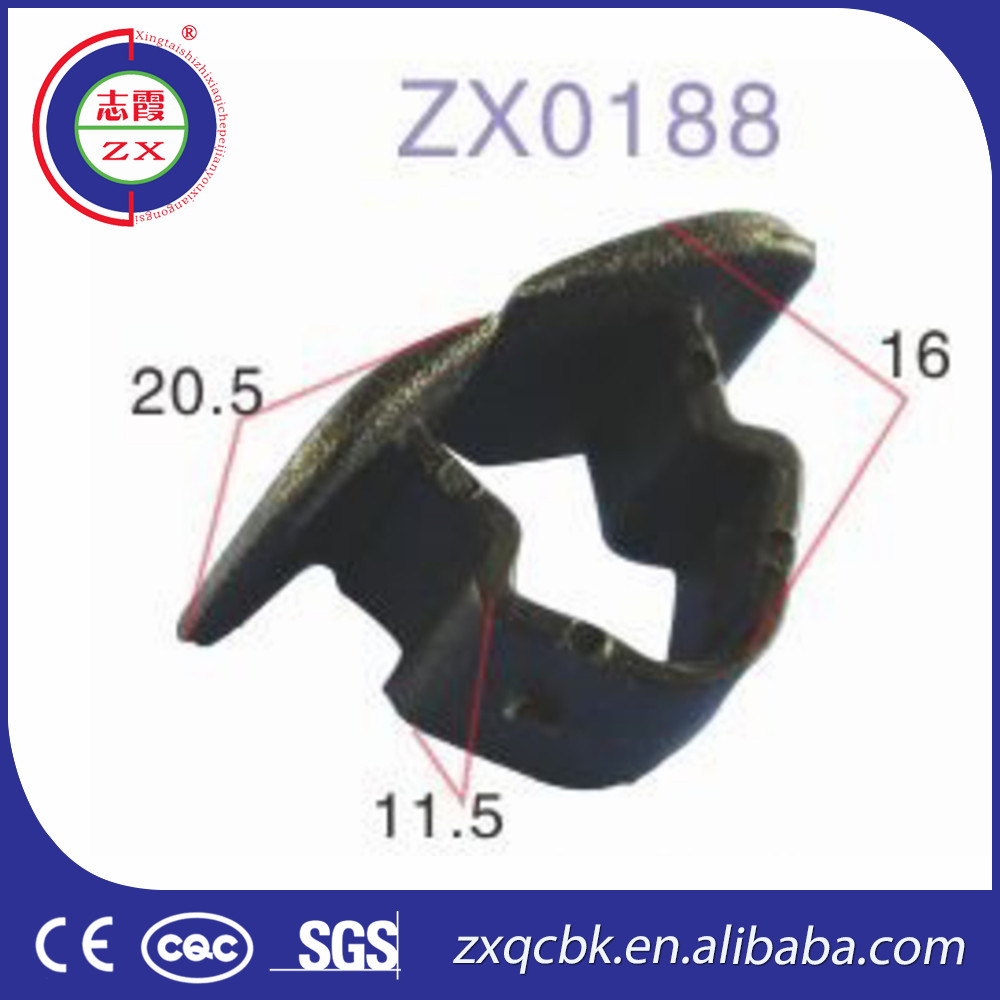 Top quality !! ZHIXIA Wholesale cars plastic auto clips/nylon clips auto part /manufacturer auto clips