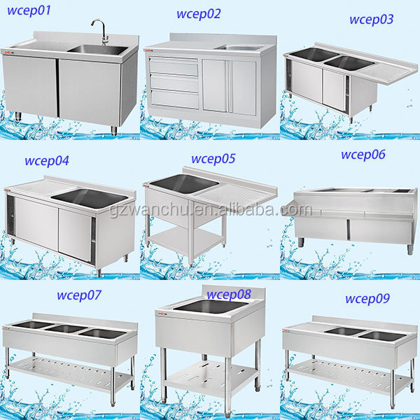 cheap price hotel kitchen single bowl sink industrial kitchen sinks stainless steel - Kitchen Sinks Cheap Prices