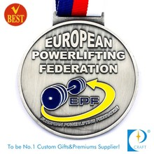 Supply custom running souvenir medal for marathon