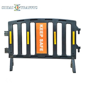 Plastic Construction Road Safety And Durable Barricade Fence