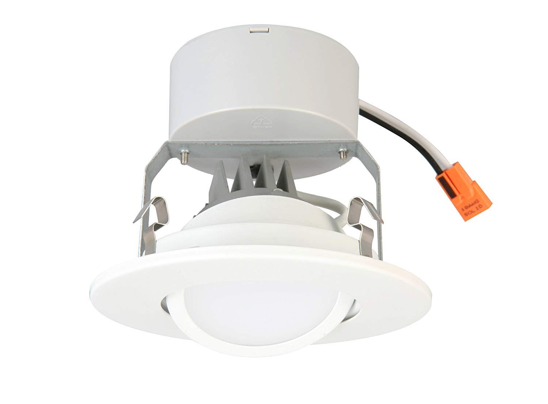 Lithonia Lighting Lithonia 4G1MW LED M6 4-Inch Matte White LED Gimbal Module