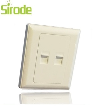 Rj45 Wall Computer Socket With Tel And Internet Without Plug Adapter - Buy  Rj45 Wall Socket,Wall Socket Rj11 Rj45,Computer Socket Product on