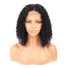 Brazilian human hair wig curly bob wig kinky curly short bob remy hair short bob wig
