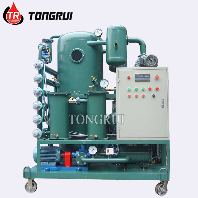 ZJA Used Black Insulating Oil Treatment Oil Purifier