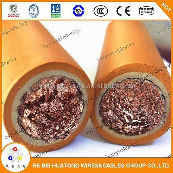 Electric rubber wire and cable from experienced manufactor
