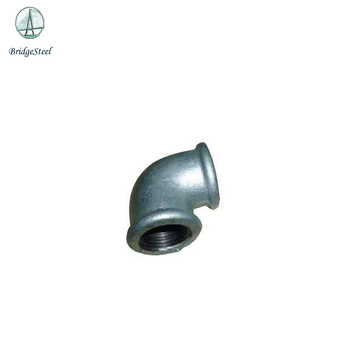 Hot selling Britain Standard / BSPT THREAD Beaded Typle Hot dipped galvanized Malleable iron pipe fittings
