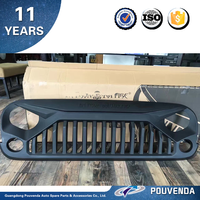 ABS Front Grille for jeep wrangler