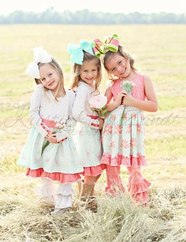 New Design Remake Baby Clothing Wholesale Children's Boutique Clothing Set