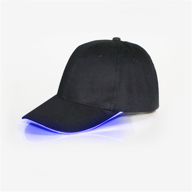 baseball caps with lights built in sport cap golf led brim camo