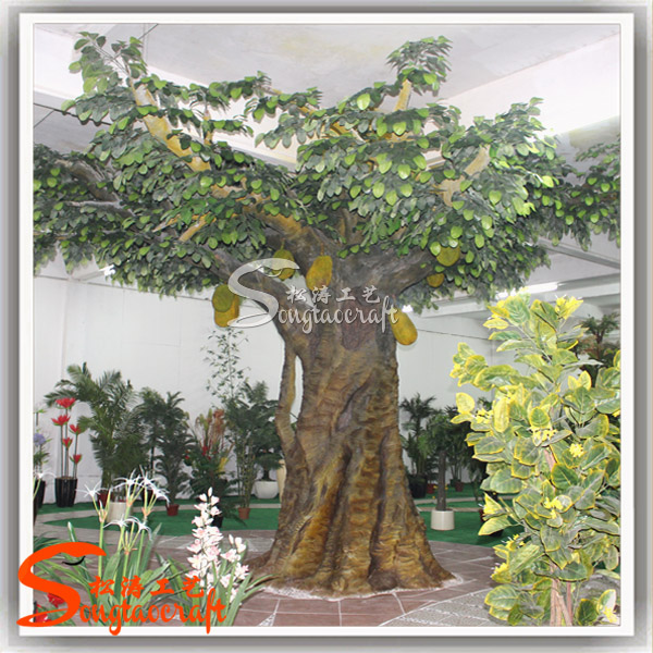 Large artificial decorative tree indoor decor tropical - Fruit trees in small spaces decoration ...