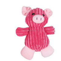 Application Dog Sound Plush Toy With Pig