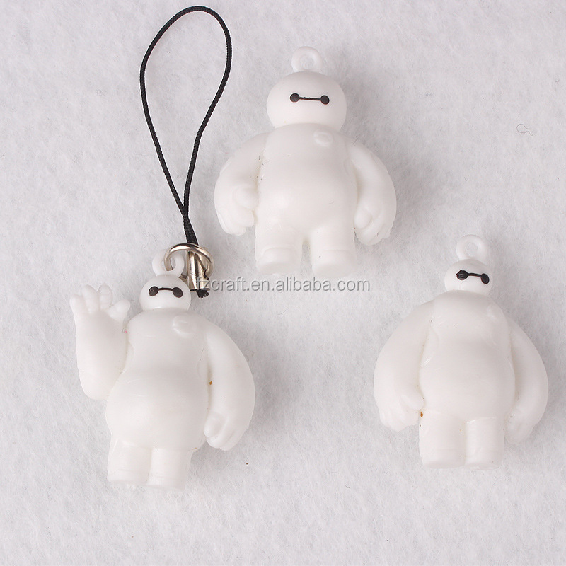 2016 high quality plastic big hero 6 baymax action figure wholesale toys figure