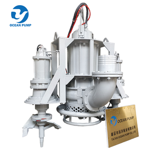 Submersible Dredging Pump With Agitator For Lake Dredging