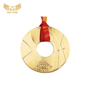 Engraved High Quality End Design Bulk Metal Russian Export Strap Medal For Event