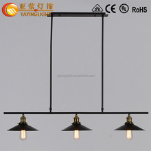 loft American country retro lighting Bar restaurant, creative personality style wrought iron chandelier industry