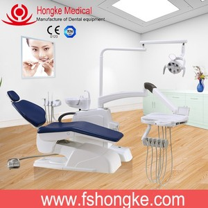 China manufactured brand dental equipment / Hospital dental instrument / Clinical dental chair price HK610