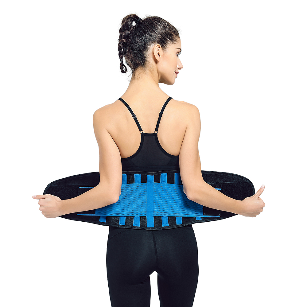 Double compression neoprene waist trainer slimming belt for sports lovers, Customized color