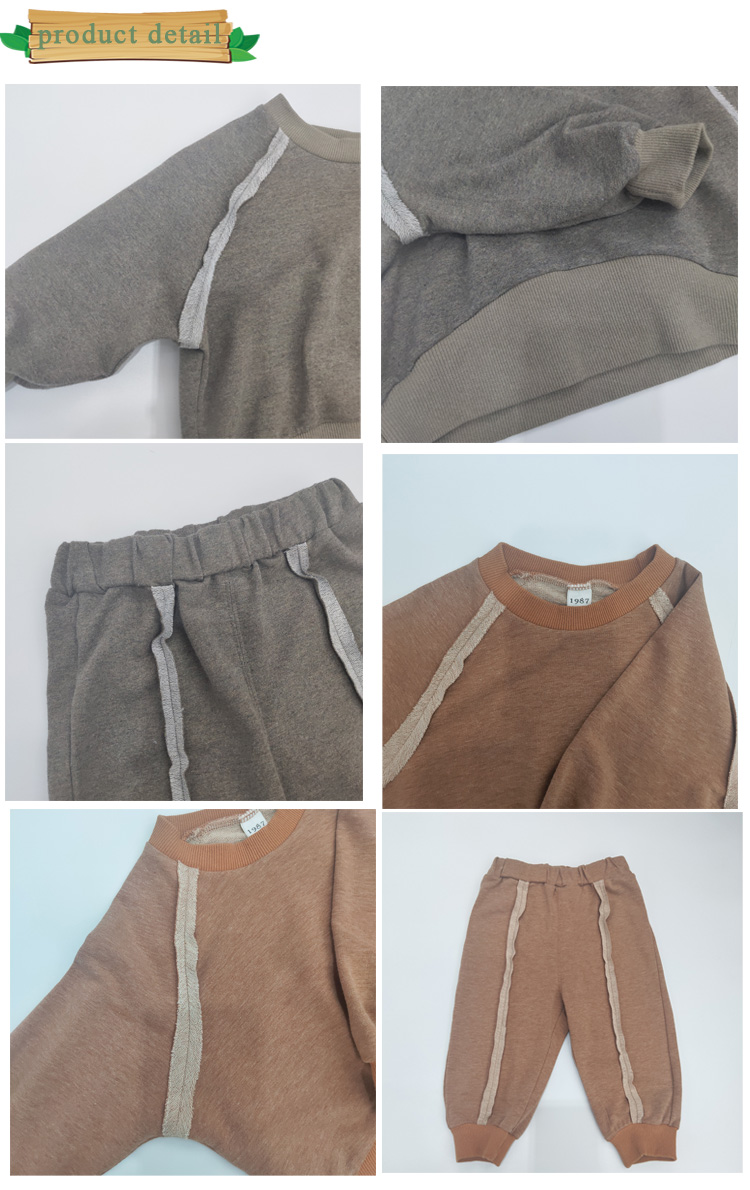Su di vendita di primavera per bambini abbigliamento per bambini set di abbigliamento per bambini usura