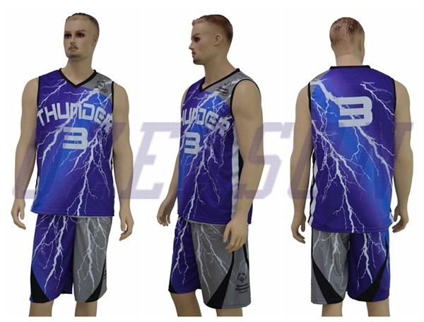 f2f781967 Competitive Basketball Jersey Uniform Design Color Blue Red - Buy ...