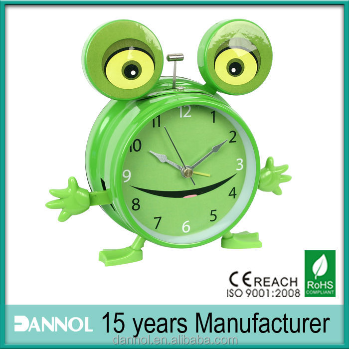 DANNOL Quartz Metal funny nature sound children's alarm clock