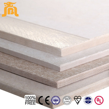 1220*2440mm Non-asbestos Fiber cement board for drywall decoration