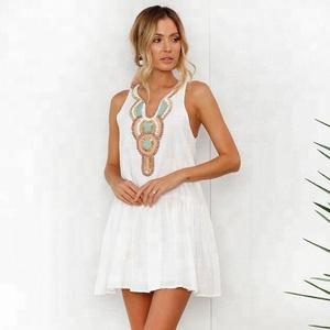 Cupped Correas Detalle Plunge Dress Sun Tie Cuadrado Volver Copas Ky Beach Encaje Wholesale Escote vgxZa