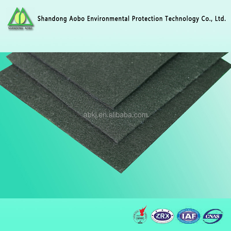 Hot sales superior quality Activated carbon felt /cloth/filter media and material