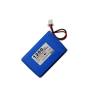 E-devices Battery 12V 1200mah Lithium Polymer Rechargeable Battery