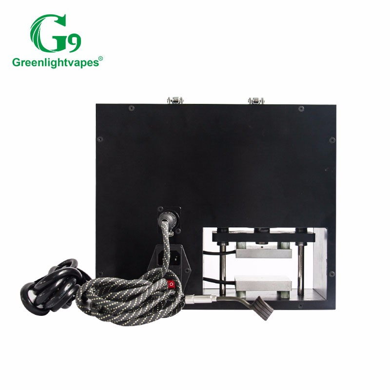 g9 rosin press with customized pid controller 10 mm flat coil heater rosin press plate heater