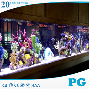 PG Made In Shanghai Custom Fish Tank Acrylic Skimmer Aquarium