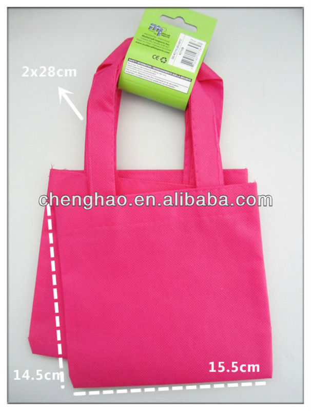 Eco-friendly gift reusable non-woven shopping bag