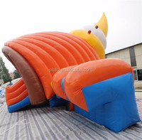Attractive giant inflatable Conch Shaped Slide/Water Slide inflatable/inflatable Bouncer Slide for sale