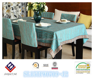 High Quality 100% Polyester Microfiber tablecloth/table runner/chair cover