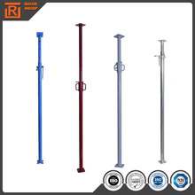 Q235 adjustable construction steel props, hot dipped galvanized steel supports