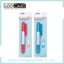 Multi-function Highlighter And Ball Pen