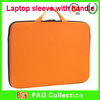 High quality 16 inch Neoprene Laptop Sleeve with handle