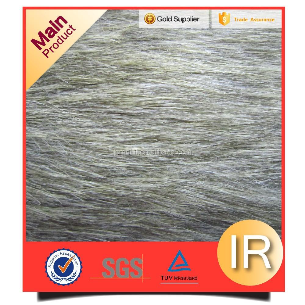 SGS Certificate Luxury Long Pile Imitation Fur Fabric
