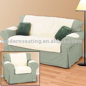 Wonderful Faux Sheepskin Sofa Cover Design
