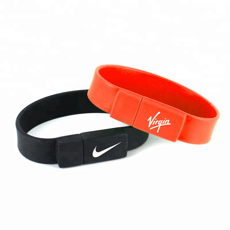 Silicone pvc <strong>USB</strong> flash memory stick bracelet <strong>usb</strong> 3.0
